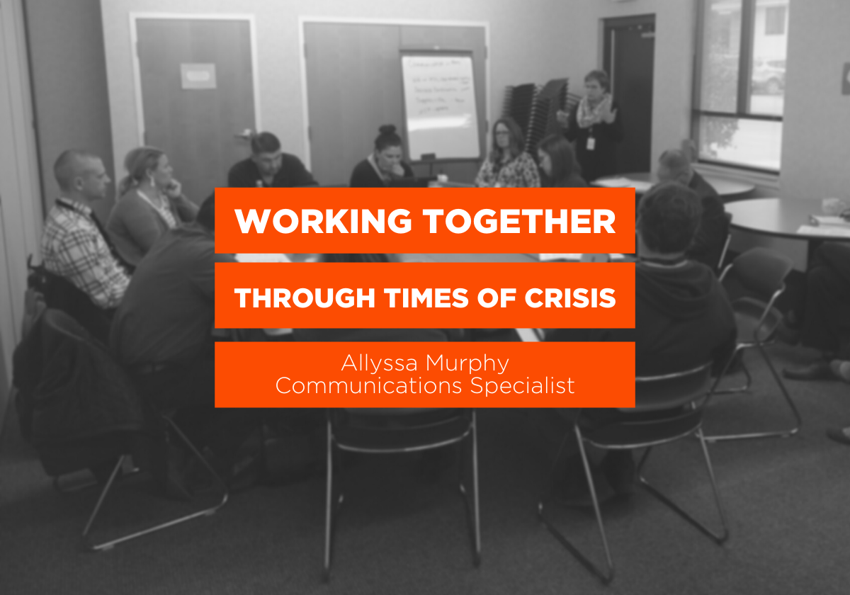 Working Together Through Times of Crisis Blog Graphic