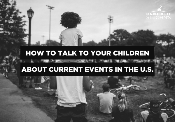 How to Talk to Your Children About Current Events in the U.S. blog image