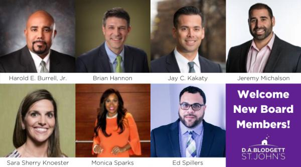 New Board Members 2019