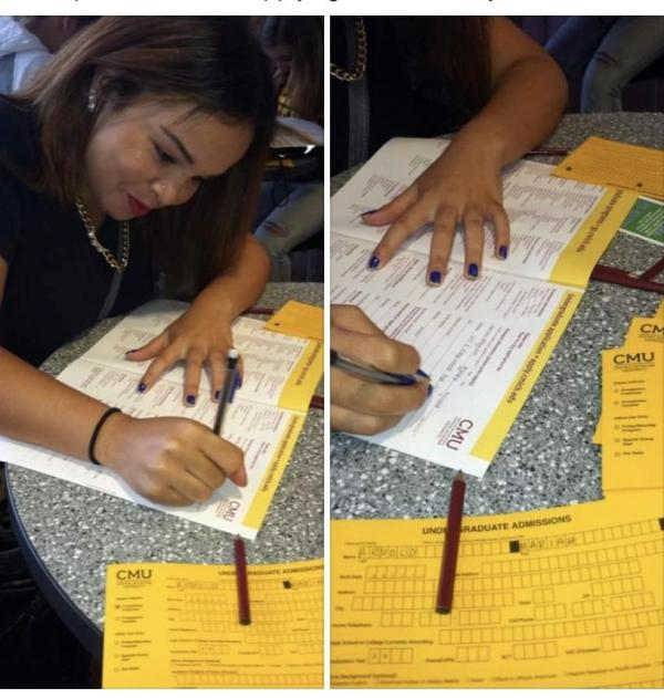 Mariah Arnold - CMU admissions