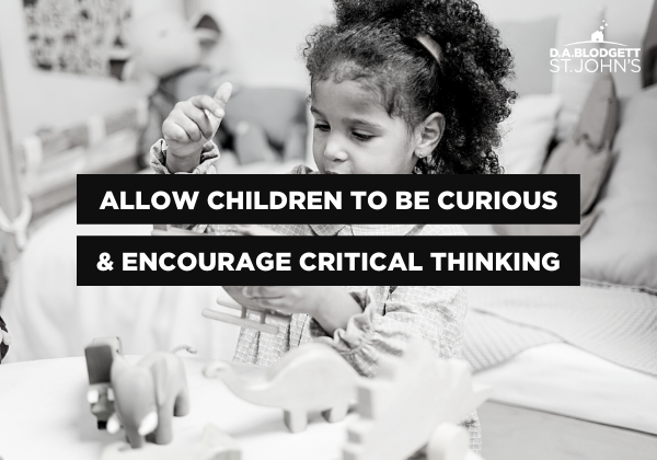 Allow children to be curious - current events blog post