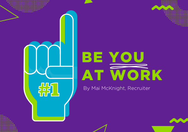 Be YOU at Work blog post