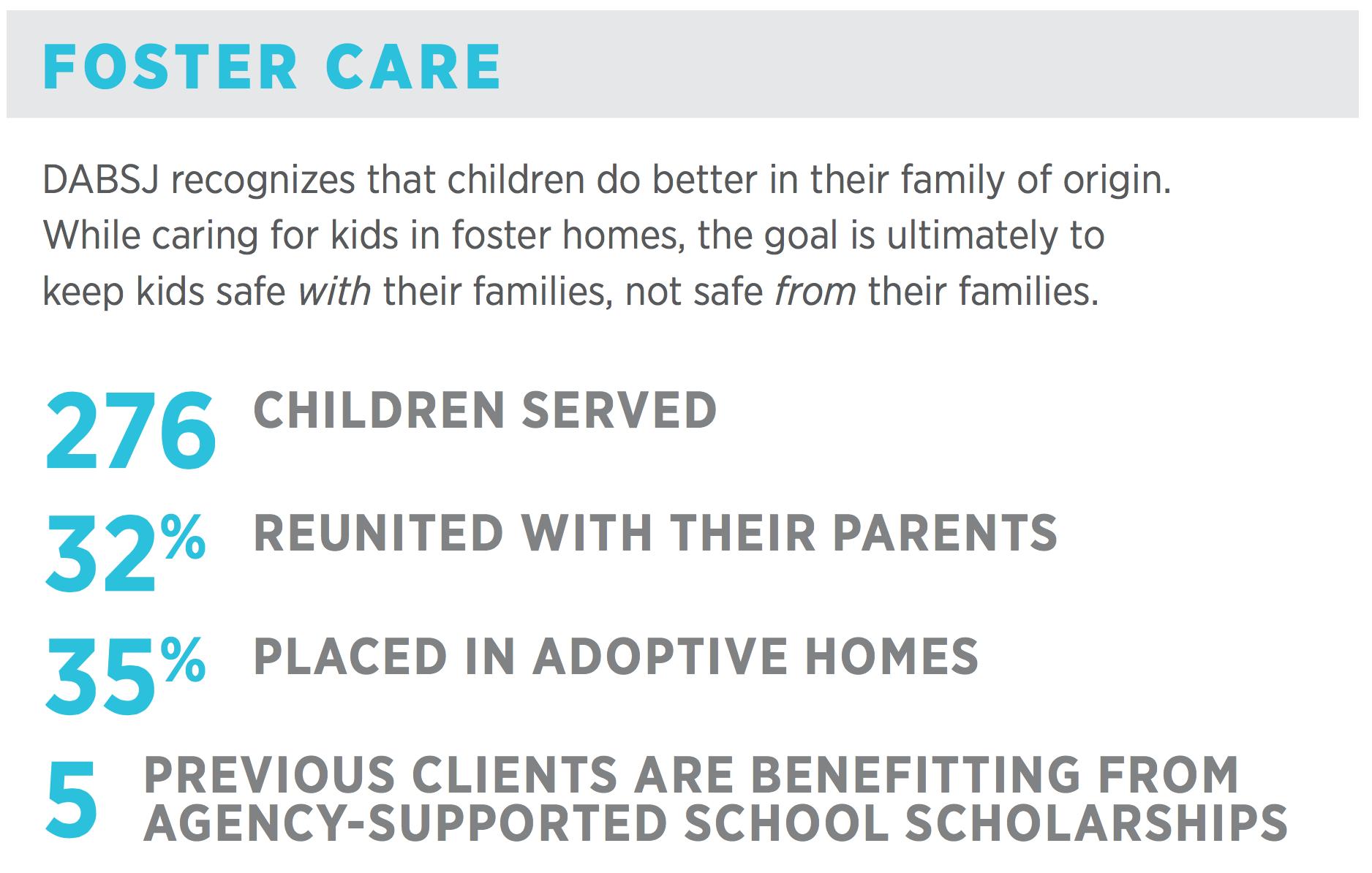 CIR - 2019 Foster care