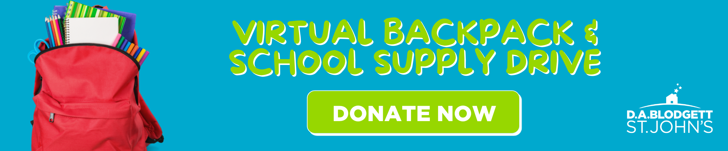 Backpack Drive banner