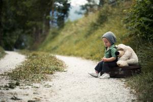 Boy Alone Outside - Tobys Story