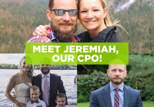 Meet Jeremiah, our CPO!
