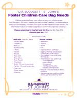 z - Cover Image: Care bag drive needs list